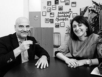 """Serena Corigliano e Giuseppe Porfido. Professionisti legali & informatici per una consulenza """"new look"""""""