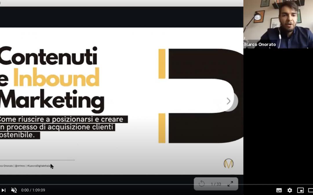 Contenuti e Inbound Marketing