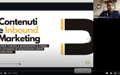 Contenuti e Inbound Marketing